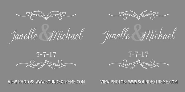 Janelle & Michael 7-7-17