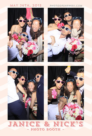 Janice + Nick (Stand Up Photo Booth)