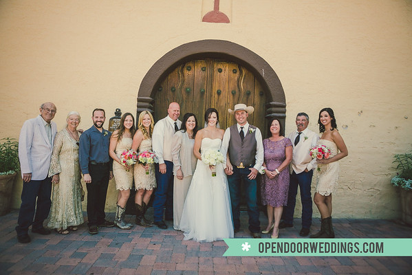 Family (Jason and Kimberly Wedding)