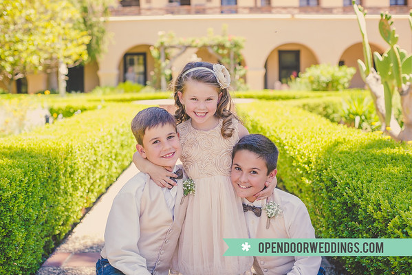 Kids Jason and Kimberly Wedding)