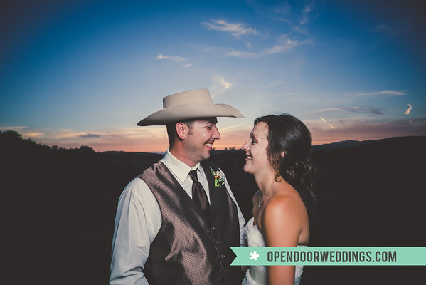 Sunset Shots (Jason and Kimberly Wedding)