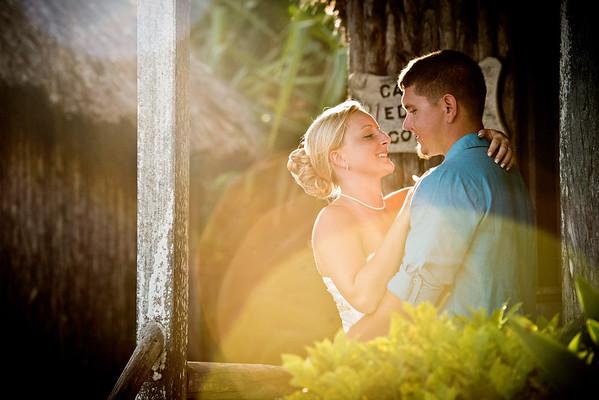 Jaymee & Dustin - Wedding - Belize - 4th of July 2016