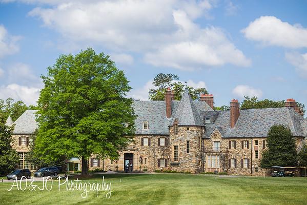 Jeff + Naadia's Wedding :: The Graylyn Estate :: Winston Salem, NC (AO&JO Photography, Raleigh Wedding Photographer)