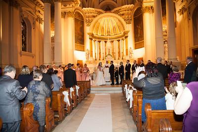 Nicole and Jeff Wambolds wedding