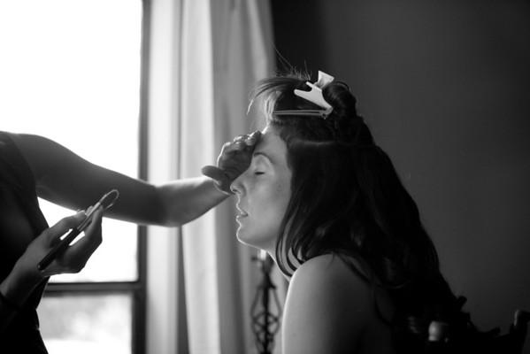 girls getting ready