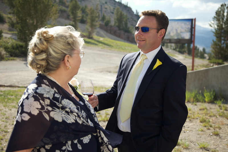 Jennifer and Jeff Baker's wedding