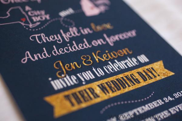 Jen & Keivon's Wedding