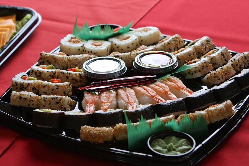 Reception appetizers