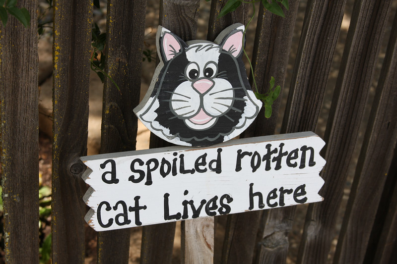sign outside of the house