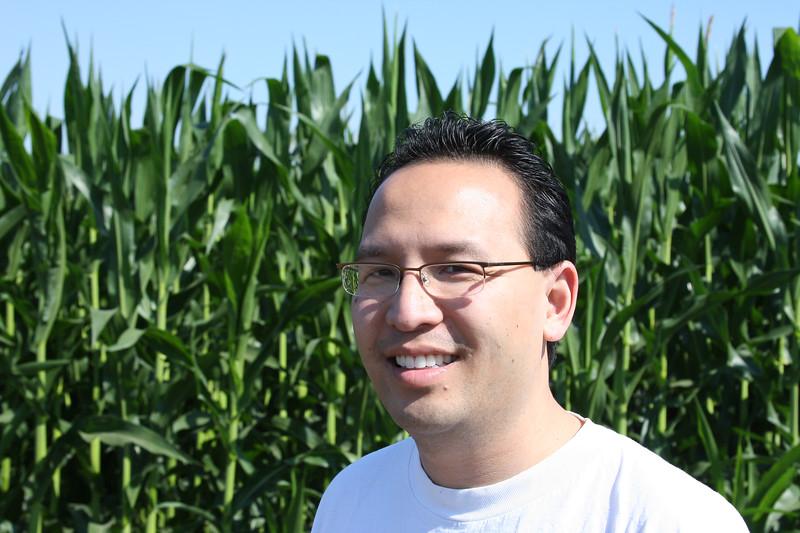 Vu in the corn fields
