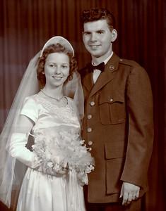 Robert and Virginia Towers June 9, 1950
