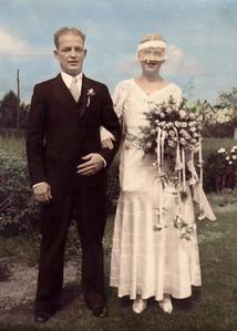 Alexander & Bernadine Ponting October 4, 1933
