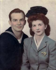 Clement & Margarett Patrick November 23, 1943