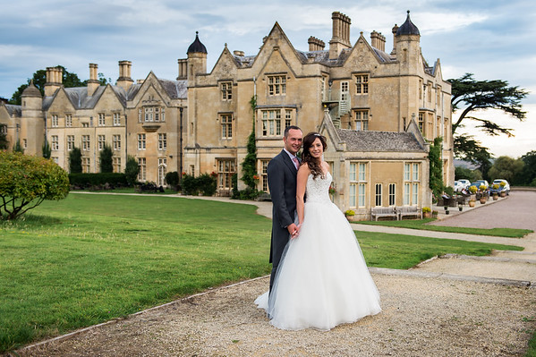 Jenna & Corey at Dumbleton Hall Worcestershire