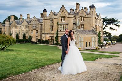 Jenna & Corey at Dumbleton Hall Worcestershire