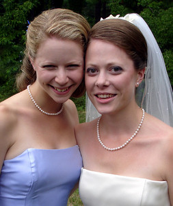 The sisters at the wedding of Jen and Jon Addair - Radford, Va ... July 3, 2005 ... Photo by Rob Page III