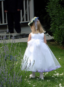 The flower girl - Radford, VA ... July 3, 2005 ... Photo by Rob Page III