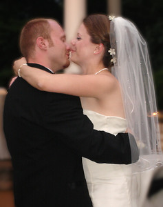 The newlyweds first dance - Radford, Va ... July 3, 2005 ... Photo by Rob Page III