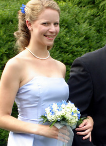 Emily at the wedding of Jen and Jon Addair - Radford, Va ... July 3, 2005 ... Photo by Rob Page III