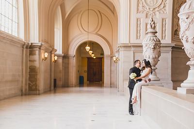 Jennifer & Jose | San Francisco City Hall Wedding