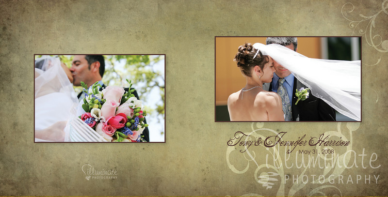 Jenn & Tony 10x10 wedding album00 cover