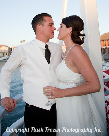 Jen and Jason's Wedding on the Scarlett Belle in Channel Islands Harbor