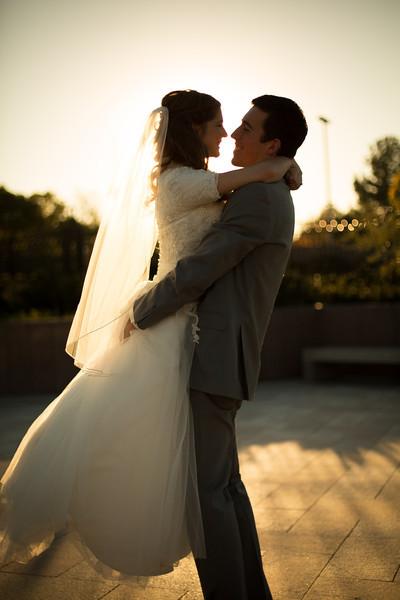 Jennifer & Austin Wedding Bridals 171