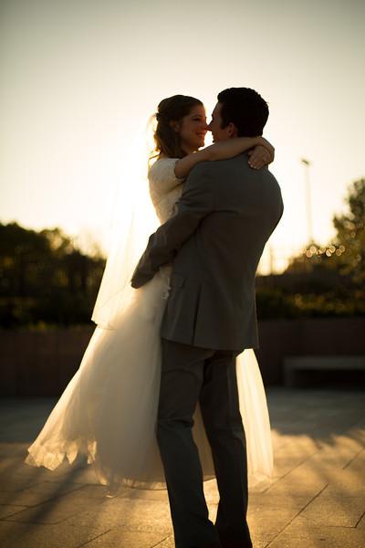 Jennifer & Austin Wedding Bridals 173