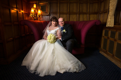 Jenny and Craig at The Moat House Acton Trussell Staffordshire