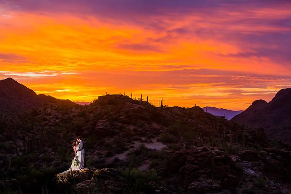 Jenny & Trevor | 2016.07.25 | Tucson, AZ | Chris