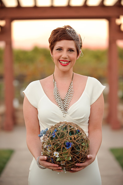 Steampunk / Bird Cage themed wedding at Wiens Family Cellars, Temecula