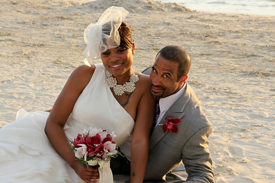 Jesse & April Jamaica Wedding