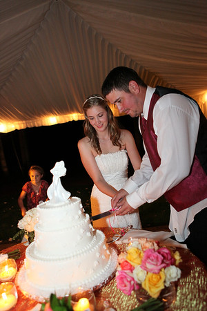 Reception. Cake Cutting.