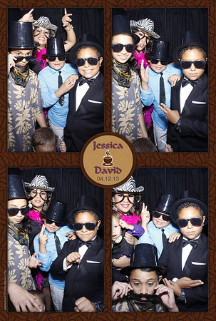 Jessica + David (Stand Up Photo Booth)