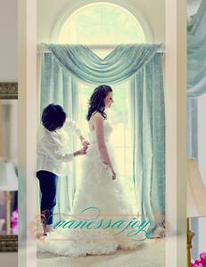 jessica levy wedding album layout 008 (Side 16)