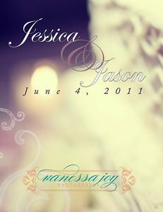jessica levy wedding album layout 002 (Side 3)