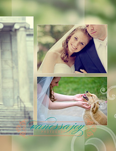 jessica levy wedding album layout 019 (Side 38)
