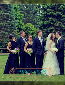 jessica levy wedding album layout 022 (Side 43)