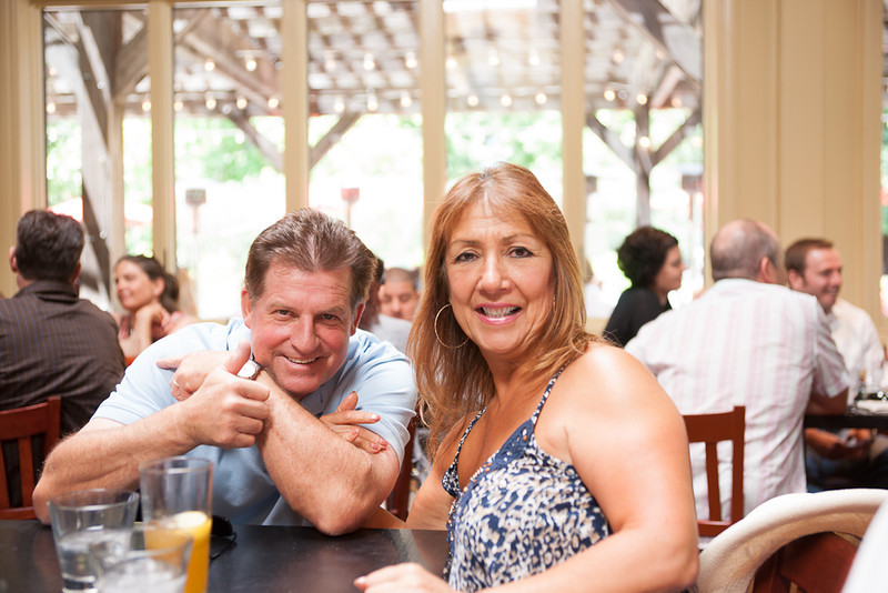 1035<br /> Wedding coordinator Christine and her husband Bill.