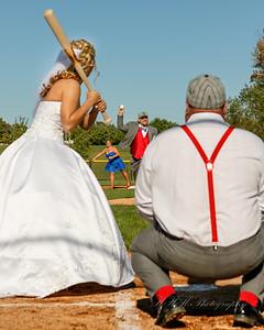 Jessica and Steve Cubs wedding