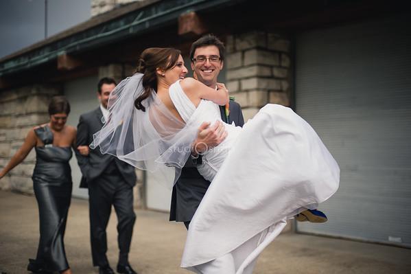 jessica + brandon  | wedding | orchard beach state park, ramsdell theater, manistee