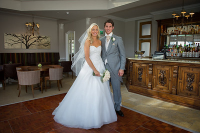 Jessica & Chris Brockencote Hall
