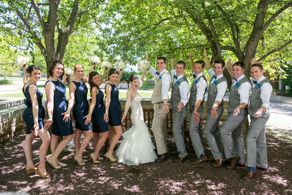 Jessie & Brian's Wedding -- Sunday, June 15, 2014 at Penn State University. Photo © Andy Colwell Photography 2014