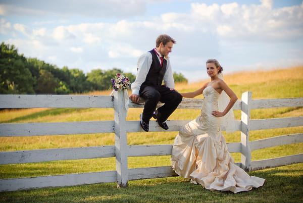 Jessie + Chris. Hillenbruck Farm Wedding.