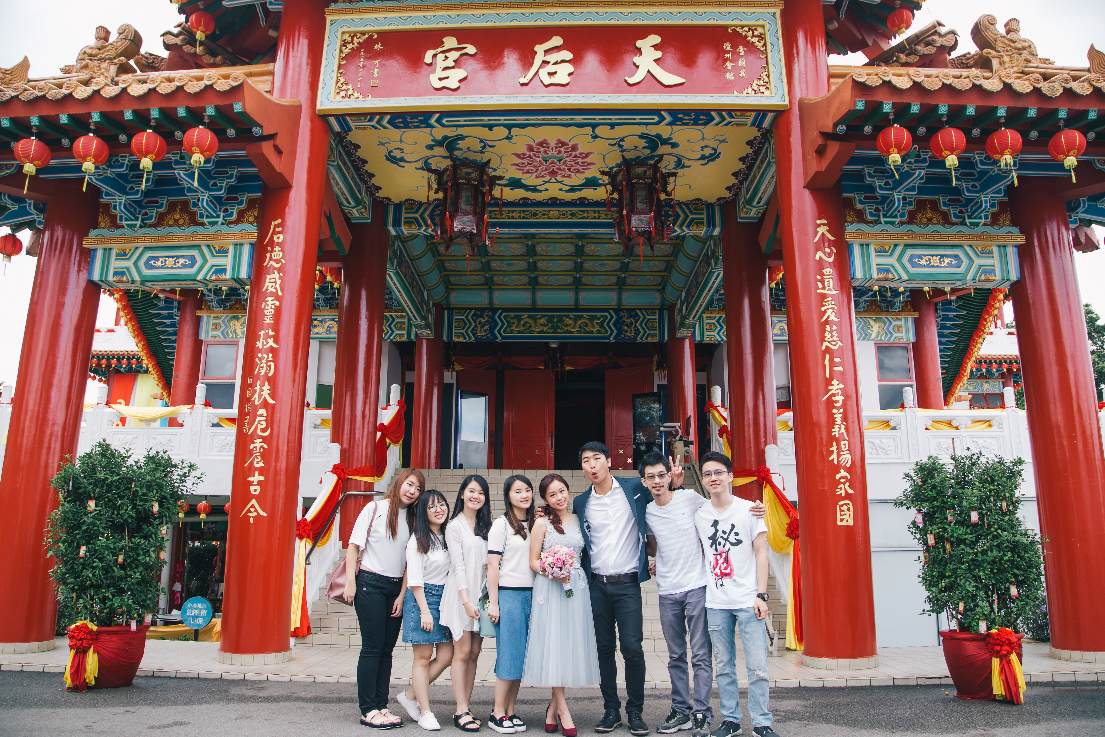 ROM in Thean Hou Temple 天后宫