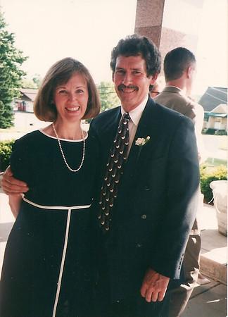 Melanie & Ed at Jill & Eddie's Wedding    6/97