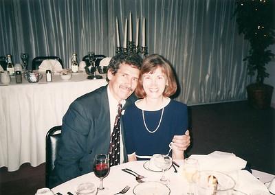 Melanie & Ed at Jill & Eddie's Wedding reception   6/97