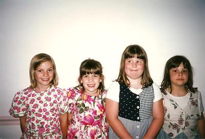 Party Girls at Jill & Eddie's Wedding    6/97