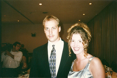 Chris and Colleen at Jill & Eddie's Wedding   6/97