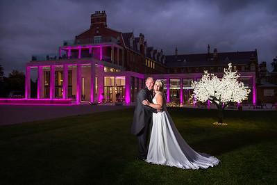 Jo & Barrie at Stanbrook Abbey. Worcestershire